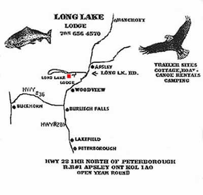 Long Lake map